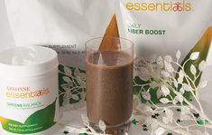 HOLIDAY CHOCOLATE MINT SHAKE Ingredients:  2 scoops Arbonne Essentials® Protein Shake Mix, Chocolate 1 scoop Arbonne Essentials Greens Balance ¾ scoop Arbonne Essentials Daily Fiber Boost 1 cup Unsweetened chocolate almond milk* 3–4 drops Pure peppermint extract 8 Raw almonds 1 cup Water 6–8 Ice cubes Instructions:  Combine all ingredients and blend well. *Substitute with unsweetened chocolate coconut milk, if preferred.