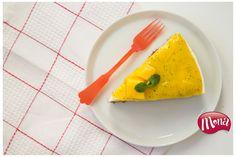 Frisse (vanille) kwarktaart met een tropisch tintje. Super eenvoudig om op tafel te zetten!