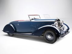 1934 Rolls-Royce Phantom III Sports Four-Seater Tourer by Thrupp Maberly