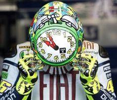 Valentino Rossi's Misano 2010 Helmet