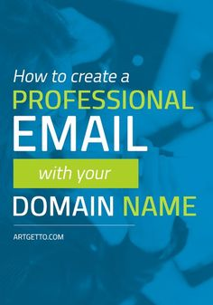 How to Create a Professional Email Address with Your Domain Name   Learn how to set up a professional email address in your hosting account, what are the apps you can use and a bit about email forwarders and autoresponders.