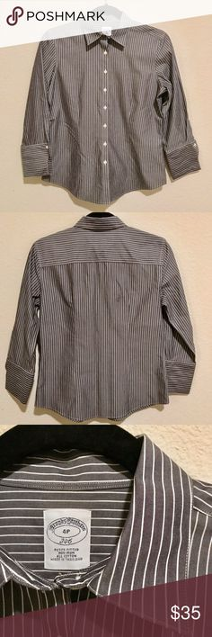 NWOT Brooks Brothers Button Down Shirt Purchased and never worn. Now it is too small for me. Hoping it will go to a good home! Brooks Brothers Tops Button Down Shirts