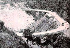 Carretera vieja Caracas - La Guaira - Puente Sebastopol. Año de 1926.