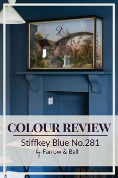 A rich blue, Farrow & Ball's Stiffkey Blue can be used in traditional spaces or to give a more dramatic look to a contemporary design. See more colour combinations and paint palettes here. Blue Paint Colors, Interior Paint Colors, Accent Colors, Colours, Colour Combinations, Colour Schemes, Sherwin Williams Navy, Stiffkey Blue, Paint Palettes