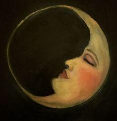 Vintage drawing moon la luna 35 new ideas Vintage Drawing, Vintage Art, Sun Moon Stars, Moon Pictures, Moon Painting, Paper Moon, Beautiful Moon, Moon Art, Illustrations