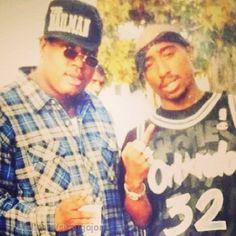 Tupac and e-40 -