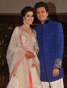 Ritesh Genelia @ Sangeet