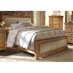 Aurora King Upholstered Panel Bed & Reviews   Joss & Main