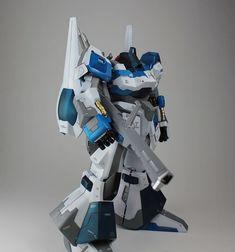 """RMS-099 Rick Dias. Amuro Ray Custom Paint Job by """"Kouichi"""" #Gundam #Gunpla"""