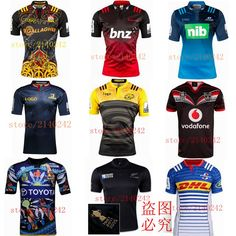 Best quality super rugby 2016 South Africa New Zealand super 15 rugby jersey rugby shirt size S-2XL Free Shipping New Africa, South Africa, Super Rugby, Football Jerseys, New Zealand, Fashion Beauty, Adidas, Free Shipping, Shirts