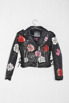 Nasty Gal x Peggy Noland Hand-Painted Leather Jacket | Nasty Gal