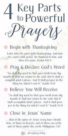 Prayer Scriptures, Bible Prayers, Faith Prayer, God Prayer, Power Of Prayer, Prayer Quotes, Bible Verses Quotes, Spiritual Quotes, Powerful Scriptures