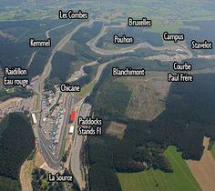Circuito F1 Spa (Bélgica)
