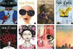 Las portadas de The New Yorker de Ana Juan
