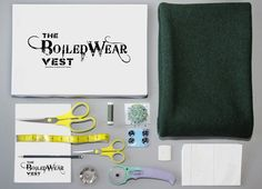 The BoiledWear Vest is a DIY design kit that allows you to create a high-fashion, high-quality 100% wool vest. Our product guarantees a perfect fit for a timeless addition to your wardrobe.