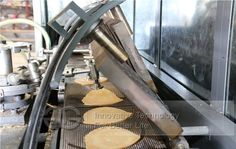 Full Automatic Ice Cream Cone Baking Plant