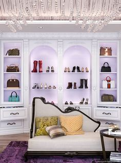 Meet with a designer who will guide you through personalizing your custom closet. Walk-ins, reach-in and luxury closet design and install. Custom Walk In Closets, Custom Closet Design, Walk In Closet Design, Closet Designs, Wardrobe Design, Dream Closets, Bedroom Closet Storage, Closet Shelving, Closet Storage Systems