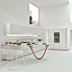 Mobili per cucina: Cucina Ola 20 di @Christy Santiago R. Snaidero Cucine | Design: Pininfarina | Anno: 2011 | Materiali: Laccato