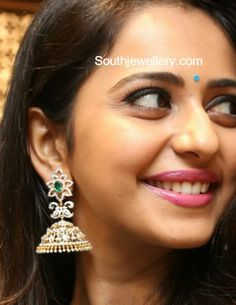 Rakul Preet Singh in Diamond Jhumkas photo