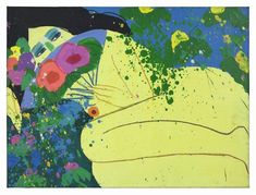 Venus Walasse Ting Date: 1980 Style: Abstract Expressionism, Pop Art Genre: nude painting (nu)
