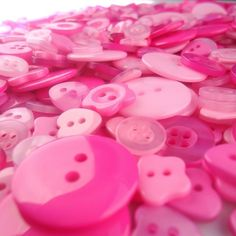 Shades of Pink Buttons