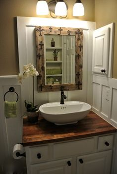 FRENCH COUNTRY BATH | 1,753 french country green Bath Design Photos