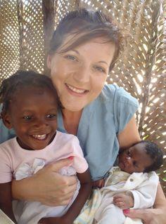 Loving on babies in Haiti #Medical Missions #Love Haiti