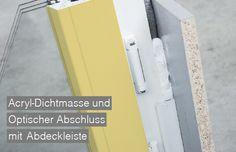 Detail ÖNORM Fenstermontage B5320