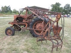 Allis Chalmers WC With Sugar Cane Picker