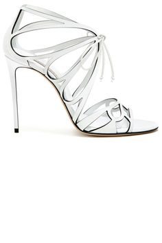 From classic shapes to modern styles, here are 18 looks at Cesare Casadei's capsule collection for the bride: