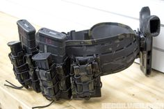 Read: Laser Sure-Grip Battle Belt from HSGI from Candice Horner on March 2018 for Recoil. Black Tactical Vest, Tactical Armor, War Belt, Combat Shotgun, Battle Belt, Military Belt, Shotguns, Firearms, Tac Gear
