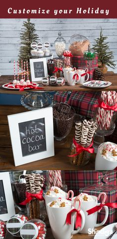 Create the ultimate hot cocoa bar this holiday season!