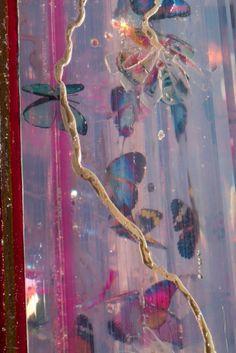Adventure Sculpture by Jessica Zoob & Karl Smith Installation Art, Sculpture Art, Butterflies, Swarovski Crystals, Mixed Media, Resin, Presents, Adventure, Fine Art