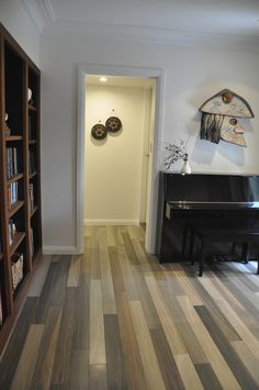 Reserva Central Park porcelain timber tiles. Design MaritaB