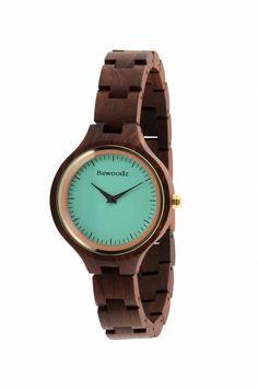 Holzuhr Damen - Holz Uhr. Designer Armbanduhr aus Holz ✓ 100% Echtholz. ✓ Damen Holzuhr. Holzuhren Bewoodz Germany. ♥ Mit Liebe hergestellt. ✓ Gratis Versand!
