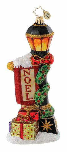 Christopher Radko Christmas Ornament - Night Glow Noel