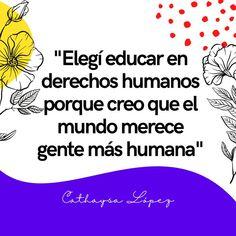 Mi misión: educar en derechos humanos. ¿Te gustan mis pines? Sígueme 🦄 #derechos #mujeres #derechoshumanos #feminismo #cathaysalopez #inspiración #personas #humanidad #empoderamientofemenino #leyes #sociedad #mundo #universo #educar #igualdad #género #mujer #8M #feministas #2021 Website, Blog, Socialism, Social Justice, Equality, Human Rights, Feminism, People, Women