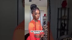 FIRST TIMER KNOTLESS BRAIDS (CROCHET INSERT) - YouTube Natural Braided Hairstyles, Natural Hairstyles For Kids, Different Hairstyles, Braided Updo, Box Braids Updo, Braids Easy, Box Braids Styling, Natural Hair Tutorials, Natural Hair Styles