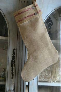 The ecofriendly Christmas stocking