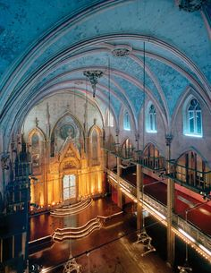 The Wedding Venue - Angel Orensanz Foundation, modeled after the Cathedral of Cologne. Stunning architectural details.