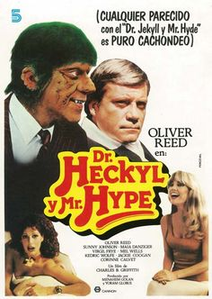 "Dr. Jeckyl y Mr. Hype (1980) ""Dr. Heckyl and Mr. Hype"" de Charles B. Griffith -  tt0080658"