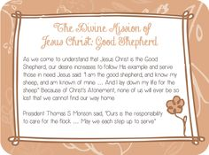 Designs By Miss Mandee: February 2014 Visiting Teaching Message printable. A fun way to share the message this month! FREE to download and print:) #LDS #mormon #jesuschrist