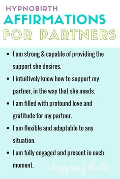 Sharing a little peek inside my eBook, Hypnobirthing Support Techniques for Partners. You can download the 13-page freebie here- http://dayspringdoula.com/hypnobirthing-partner-ebook
