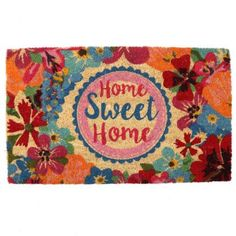 #Rohožka z kokosového vlákna - #BotanicalGardens - #HomeSweetHome