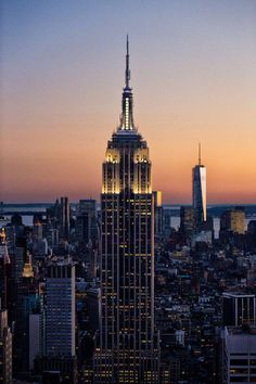 Empire State Building Sunset