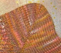 The Double Stitch Short Row Heel (yo-yo heel) -- Short rows deconstructed -- roomier short row heels