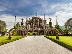 Isole Borromee -  Isola Bella - Giardino del Palazzo Borromeo