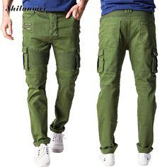 33.30$  Watch here - http://ali7ue.shopchina.info/go.php?t=32781737473 - Denim Men bermuda jeans masculina harajuku causal  biker dsq dsq green adey skinny mens cuffed fashion warm jeans men xxl 33.30$ #aliexpress