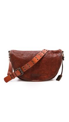 Life & style by Keaton Row Buckle Bags, Distressed Leather, Leather Crossbody Bag, Crossbody Bags, Becca, Bag Sale, Saddle Bags, Dust Bag, Personal Style