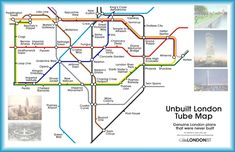 A Tube Map Of The London That Never Was | Londonist
